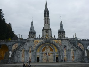 Mariabasiliek in Lourdes